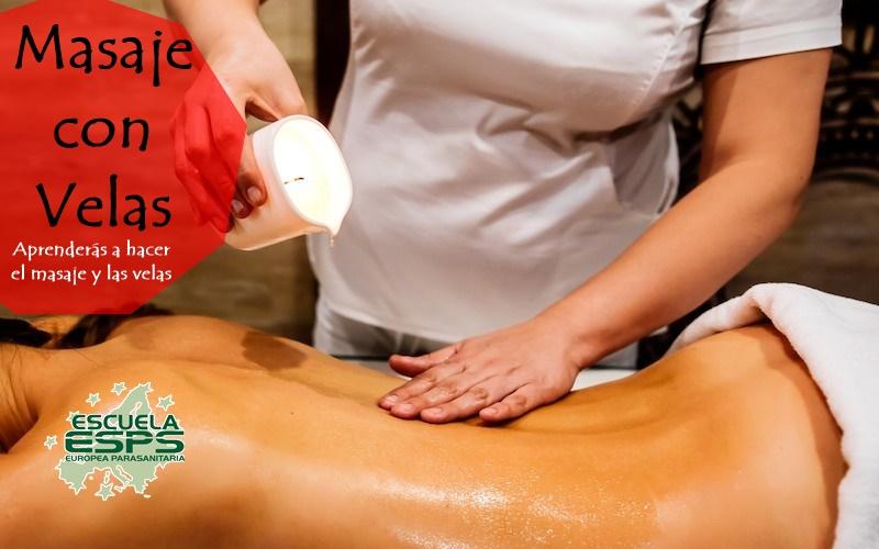 curso de masaje con velas